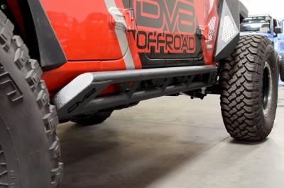 DV8 Offroad - Jeep JL Tubular Side Step/ Slider 2018+  (4 Door Only) SRJL-02 - Image 1