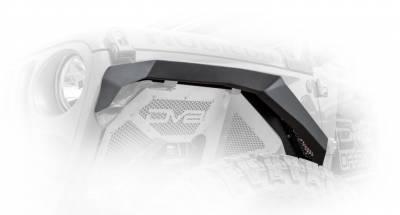 DV8 Offroad - Jeep Wrangler JL 2018+  Armor Fenders (Set of 4) FDJL-01 - Image 2