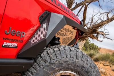 DV8 Offroad - Jeep Wrangler JL 2018+  Armor Fenders (Set of 4) FDJL-01 - Image 4