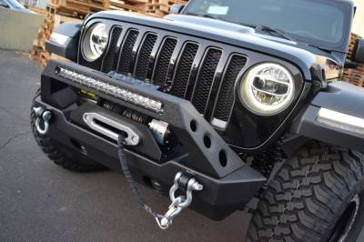 DV8 Offroad - Jeep Wrangler JL Front Bumper Adapter Brackets. Use any JK Bumper on your JL ! - Image 2