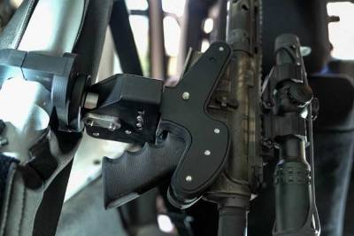Blac-Rac Weapon Retention Systems - Blac-Rac System Firearm Retention Mount - Image 2