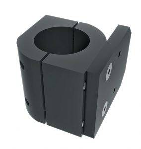"""Blac-Rac Weapon Retention Systems - Blac-Rac System - Tube Mount - 7/8"""" Tube - Image 1"""