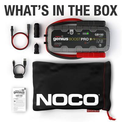 Noco - NOCO 4000 Amp Compact Lithium Extreme Duty Jump Starter & Power Supply GB150 - Image 3