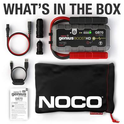 Noco - NOCO 2000 Amp Compact Lithium Diesel Jump Starter & Power Supply GB70 - Image 2