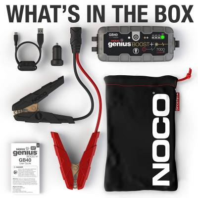 Noco - NOCO 1000 Amp Compact Lithium Jump Starter & Power Supply GB40 - Image 2