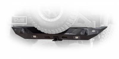DV8 Offroad - Jeep JL Rear Bumper with LED Lights 18-Present Wrangler JL - Image 1