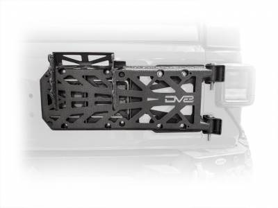 DV8 Offroad - Jeep JL HD Easy Open Hinge Replacement Spare Tire Carrier - Image 2