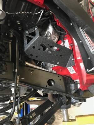 DV8 Offroad - Jeep JL Under Hood Compressor Mount for ARB CKMTA12 - Image 1