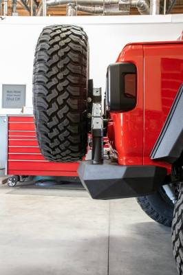 DV8 Offroad - Jeep JL Rear Bumper & Tire Carrier - Frame Mount - 18- Jeep Wrangler JL - Image 2