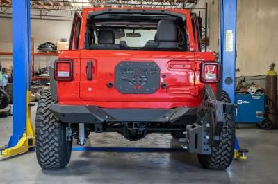 DV8 Offroad - Jeep JL Rear Bumper & Tire Carrier - Frame Mount - 18- Jeep Wrangler JL - Image 3