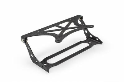 DV8 Offroad - Flip Up License Plate Relocation Bracket Fairlead Mounted (LPBM-01) - Image 1