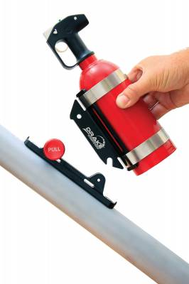Drake Off Road - Drake Universal Quick Release Fire Extinguisher Mount - Image 3
