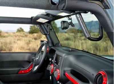 GraBars USA - GraBar USA Jeep JK 4 Door Grab Bars - Front & Rear Seats - Image 2