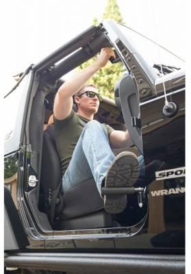 GraBars USA - Grabbar Boot Bars Jeep JK - JL - JT Foot Pegs - No Sharp Edges - Image 1
