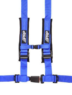 "PRP Safety - PRP 4.2 Harness Safety Belt - Blue 2"", 4 Point Assembly - Image 1"