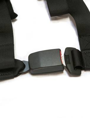 """PRP Safety - PRP 4.2 Harness Safety Belt - Red 2"""", 4 Point Assembly - Image 3"""