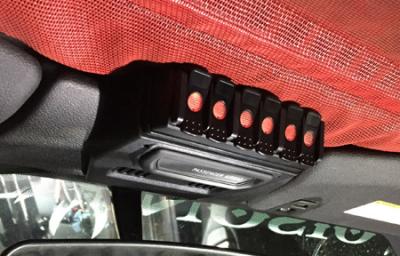 Trigger Bluetooth Switch - Trigger Jeep JK Six-Shooter Bluetooth/RF Wireless Accessory Control Unit - 6 Circuit - Image 4