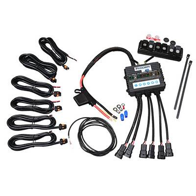 Trigger Bluetooth Switch - Trigger Jeep JK Six-Shooter Bluetooth/RF Wireless Accessory Control Unit - 6 Circuit - Image 2