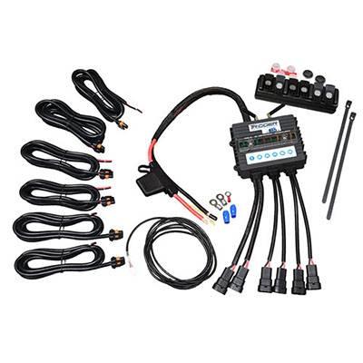 Trigger Bluetooth Switch - Trigger Jeep JL-JT Six-Shooter Bluetooth/RF Wireless Accessory Control Unit - 6 Circuit - Image 2
