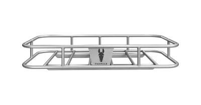 "PakMule Cargo Carriers - PakMule Ridgeline 57"" Wide High Clearance Aluminum Cargo Hitch Rack - Image 1"