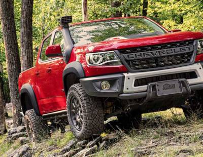AEV - AEV Bison Flares - Rear Fender Flare Kit (Ext Cab) - 2015+ Chevy Colorado - Image 1