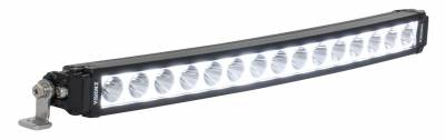 "Vision X Lighting - VISION X 20.08"" XPL CURVED SERIES HALO 15 LED LIGHT BAR INCLUDING END MOUNT L BRACKETS AND HARNESS - Image 1"