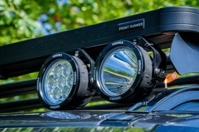 """Vision X Lighting - VISION X SINGLE 3.7"""" 3 LED CG2 MINI LIGHT CANNON - Image 2"""