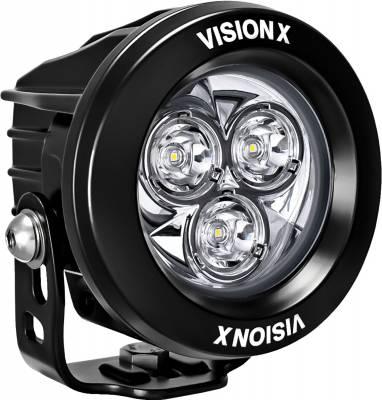 """Vision X Lighting - VISION X SINGLE 3.7"""" 3 LED CG2 MINI LIGHT CANNON - Image 3"""