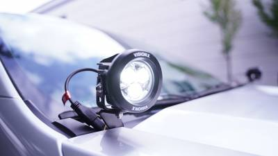 """Vision X Lighting - VISION X PAIR OF 3.7"""" 3 LED CG2 MINI LIGHT CANNONS INCLUDING HARNESS - Image 2"""