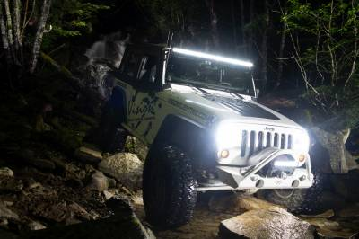 """Vision X Lighting - VISION X 50.98"""" XPL SERIES HALO 39 LED LIGHT BAR INCLUDING END CAP MOUNTING L BRACKET AND HARNESS - Image 2"""