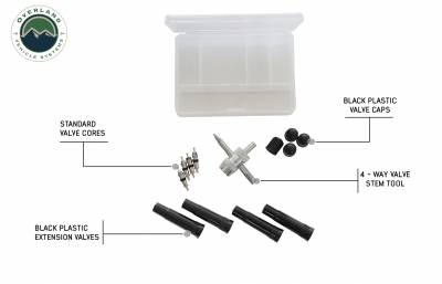 Overland Vehicle Systems - Tire Repair Kit - 53 Piece Kit With Black Storage Box - Image 3