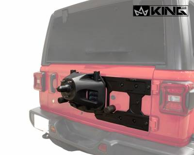 Overland Vehicle Systems - Baumer Heavy Duty Tire Carrier - Wrangler JK 2007-2018 - Image 1