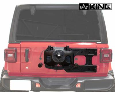 Overland Vehicle Systems - Baumer Heavy Duty Tire Carrier - Wrangler JL 2018> - Image 2