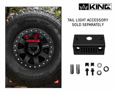 Overland Vehicle Systems - Baumer Heavy Duty Tire Carrier - Wrangler JL 2018> - Image 5