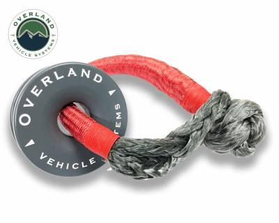 "Overland Vehicle Systems - Recovery Ring 4.00"" 41,000 lb. Gray With Storage Bag - Image 2"