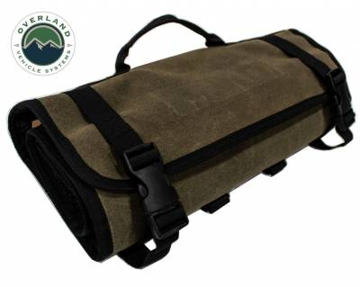 Overland Vehicle Systems - Rolled Bag First Aid - #16 Waxed Canvas - Image 3