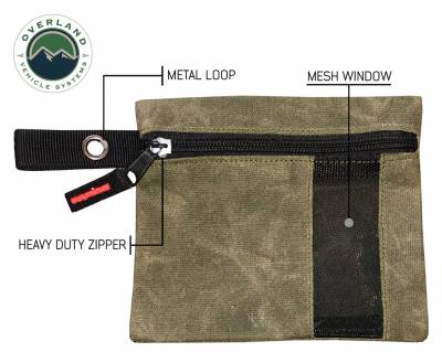 Overland Vehicle Systems - Small Bags - 3 Individual  #12 Waxed Canvas - Image 3