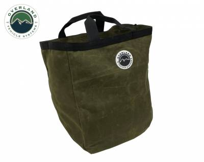 Overland Vehicle Systems - Tote Bag #16 Waxed Canvas Bag - Image 1