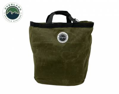 Overland Vehicle Systems - Tote Bag #16 Waxed Canvas Bag - Image 2