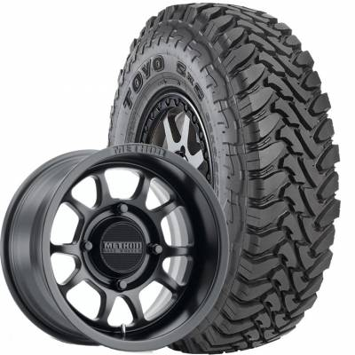 Toyo Tire - 32x9.50R15 Toyo MT SS UTV on 15x7 Method 409 Black - Image 1