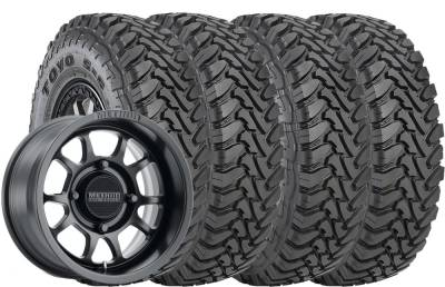 Toyo Tire - 32x9.50R15 Toyo MT SS UTV on 15x7 Method 409 Black - Image 2