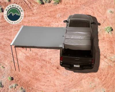 Overland Vehicle Systems - Nomadic Awning 2.0 - 6.5' with Black Cover Universal - 18049909 OVS - Image 2