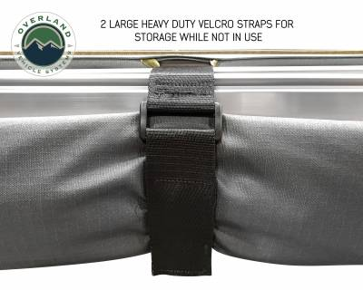 Overland Vehicle Systems - Nomadic Awning 2.0 - 6.5' with Black Cover Universal - 18049909 OVS - Image 3