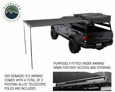 Overland Vehicle Systems - Nomadic Awning 2.0 - 6.5' with Black Cover Universal - 18049909 OVS - Image 5