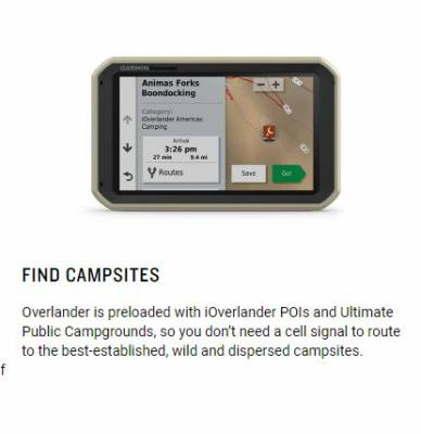 Garmin - Garmin Overlander All-Terrain GPS Navigator - Image 6