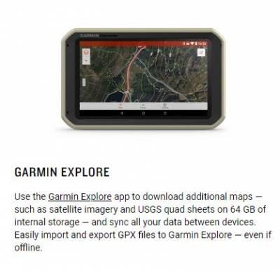 Garmin - Garmin Overlander All-Terrain GPS Navigator - Image 7