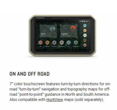Garmin - Garmin Overlander All-Terrain GPS Navigator - Image 10