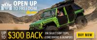 Bestop Open Up to Freedom Rebate Promotion - HighRock 4x4 Bumpers