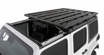 Rhino-Rack Jeep 4 Door JLU Backbone Roof Rack System JC-00455 - Image 3